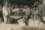 Beautiful Baked Loaves in a War Zone Photographic Print