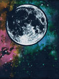 Moon Wall Decal by  Junk Food