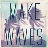 Make Waves Wall Decal by  Junk Food