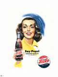 Pepsi - Say Pepsi Certified Quality 1951 Ad Wall Decal