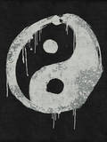 Dripping Yin Yang Wall Decal by  Junk Food