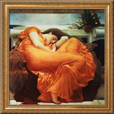 Flaming June Framed Giclee Print by Frederick Leighton