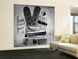 Forever Wall Mural – Large by  Junk Food