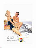 Pepsi - Seaside Couple, 1954 Ad Wall Decal