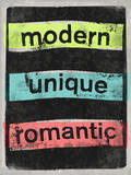 Modern Unique Romantic Wall Decal by  Junk Food