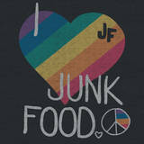 I HEART JUNK FOOD Wall Decal by  Junk Food