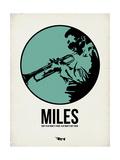 Miles 1 Kunstdruck von Aron Stein