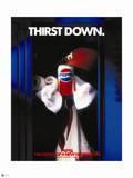Pepsi - Thirst Down, Football and Can 1990 New Generation Ad Wall Decal