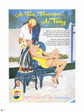 Pepsi - As Fair Tomorrow as Today, Vintage 1959 Ad Wall Decal