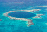 The Great Blue Hole Photographic Print by  wollertz