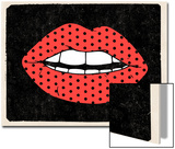 Polk-a-dot Lips Posters by  Junk Food