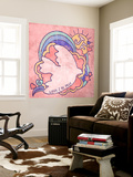 Love 2 Be Free - Dove Flying Wall Mural by  Junk Food