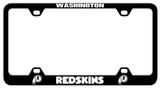 Washington Redskins Laser License Plate Frame Novelty