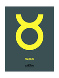 Taurus Zodiac Sign Yellow Posters