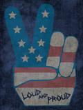 Peace Symbol - Loud and Proud Autocollant mural par  Junk Food