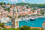 Amazing Town of Hvar Harbor Photographic Print by  xbrchx
