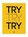 Try Try Try Yellow Prints by  NaxArt