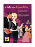 Pepsi - So Young, So Fair, Vintage 1959 Ad Wall Decal