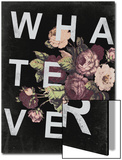 WHATEVER … and Vintage Floral Design Prints by  Junk Food