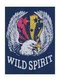 Wild Spirit Metal Print by  Junk Food