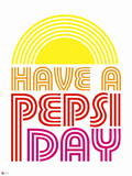 Have a Pepsi Day - Retro 1976 Graphic Wall Decal