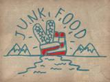 On the Horizon Muursticker van  Junk Food