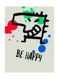 Be Happy 1 Prints by Lina Lu
