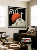 Rio Wall Mural by  Junk Food
