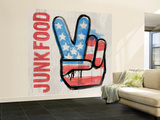 Quick Paint Wall Mural – Large by  Junk Food
