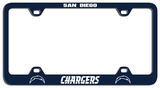 San Diego Chargers Laser License Plate Frame Novelty