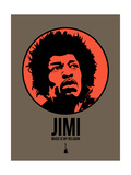 Jimi 1 Prints by Aron Stein