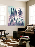 Make Waves Wall Mural by  Junk Food
