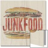 JUNKFOOD Meat Sandwich Plakater av  Junk Food