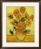 Girassol Impressão giclée emoldurada por Vincent van Gogh