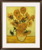 Sunflowers Framed Giclee Print by Vincent van Gogh