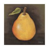 Yellow Pear Prints by Kim Lewis