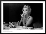 Marilyn Monroe, Back Stage Print by Sam Shaw