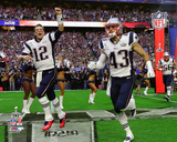 New England Patriots Team Introduction Super Bowl XLIX Photo