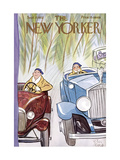 The New Yorker Cover - September 17, 1932 Premium Giclee Print by Peter Arno