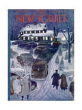 The New Yorker Cover - March 4, 1950 Premium Giclee Print by Garrett Price