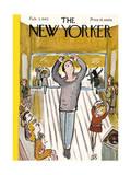 The New Yorker Cover - February 3, 1945 Regular Giclee Print by Abe Birnbaum