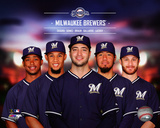 Milwaukee Brewers 2014 Team Composite Photo