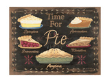 Time for Pie Affiches par Jo Moulton