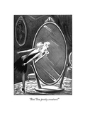 """Boo! You pretty creature!"" - New Yorker Cartoon Premium Giclee Print by Peter Arno"