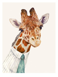 Mr. Giraffe Prints by  Animal Crew