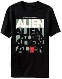 Alien - Vintage Poster T-shirts