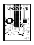The New Yorker Cover - November 13, 2000 Regular Giclee Print by Bruce Eric Kaplan