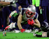 Julian Edelman Super Bowl XLIX Action Photo
