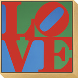 Love, 1967 Framed Print Mount by Robert Indiana