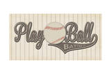 Play Ball Posters by Stephanie Marrott